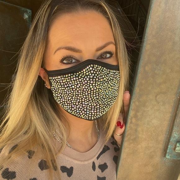 Fashion face mask Bling